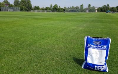 Optimize turf-quality with Granucote