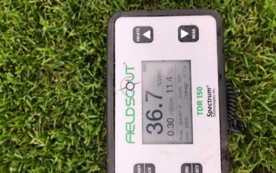 March-application Granucote®CRF for healthy turfgrass